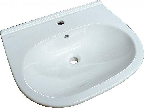 Villeroy & Boch O.Novo Waschbecken mit Hahnloch und Überlauf Waschtisch