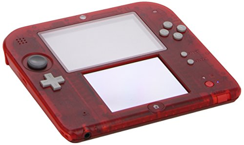 Nintendo 2DS - Consola, Color Transparente Rojo: Amazon.es ...