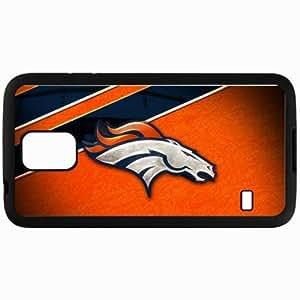 Personalized Samsung S5 Cell phone Case/Cover Skin Denver Broncos Logo Sporty Black