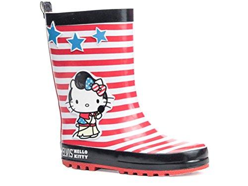 """Hello Kitty Bottes de pluie, Bottes en caoutchouc elvis """""""
