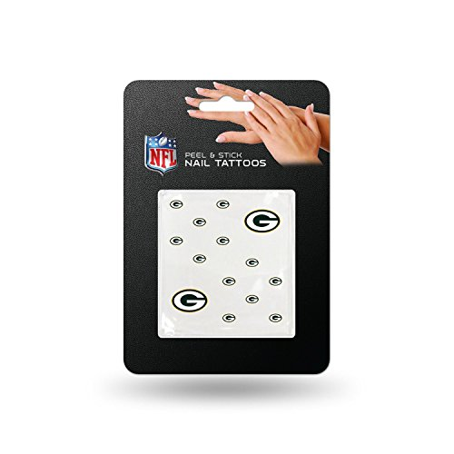 NFL Green Bay Packers Nail Tattoos (Green Bay Packers Tattoo)