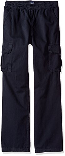 The Children's Place Big Boys' Pull-On Cargo Pant, New Navy, 16H