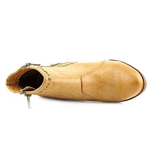 ... Mia Simone Kvinner Oss 10 Tan Ankel Boot ...