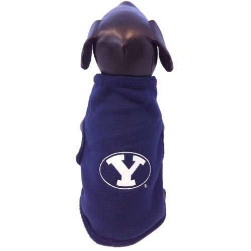 NCAA Brigham pumas jóvenes universitarios forro Polar perro colegial sudor-camisa, azul marino