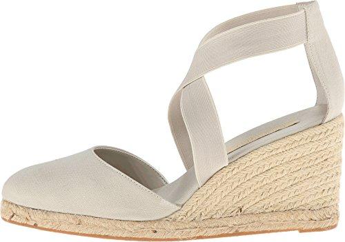 Nine West Women's Memory Natural/Natural Fabric Sandal 10 M