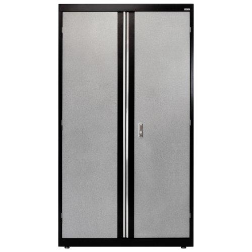 Sandusky Lee GACF361872-M9 Welded Steel Combo Cabinet, 3 Adjustable Side Shelves, 1 (Adjustable Side Shelf)