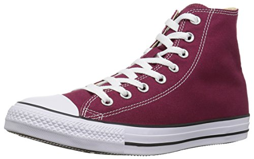 Canvas Style and Uppers Chuck Classic Casual Top Star Durable High in Unisex Color All Converse Sneakers Taylor Maroon and fpwCxgAanq