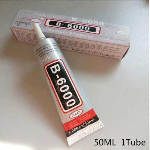 AD Beads Strong Super Glue For Jewelry Watch Repair Multi-Purpose (B-6000 Glue Adhesive force 50ml)