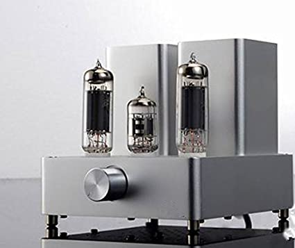 GOWE EL84+12AX7 mini tube amp silver tube amplifier