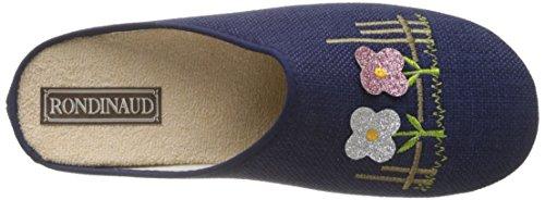 Mules Rondinaud Femme Marine Ornain Bleu gx4qUx5wC