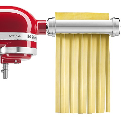KitchenAid KSMPRA 3-Piece Pasta Roller & Cutter Attachment Set