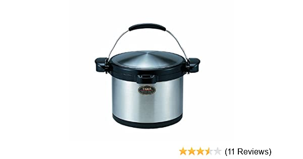 Tiger NFI-A600 Vacuum Insulated Non-Electric Thermal Cooker 203 Oz//6 L Double Wall