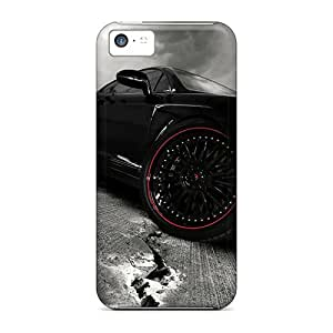 SherriFakhry Iphone 5c Bumper Cell-phone Hard Cover Allow Personal Design Lifelike Iphone Wallpaper Pattern [Kyb17172dFrw]