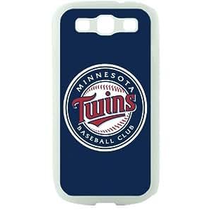 MLB Major League Baseball Minnesota Twins Samsung Galaxy S3 SIII I9300 TPU Soft Black or White case (White)