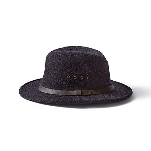 Filson Unisex Wool Packer Hat Charcoal LG