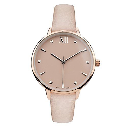 Rosemarie Collections Women's Blush Pink Fashion Strap - Macys Hour Store
