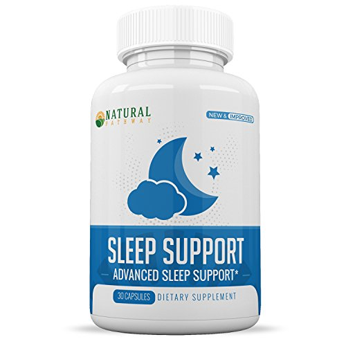 Sleep Aid :: Melatonin 5mg :: Fast Acting Formula :: Promotes Deep Rest :: Supports Relaxation :: Wake Feeling Refreshed and Energized :: 30 Capsules Per Bottle :: Natural Pathway