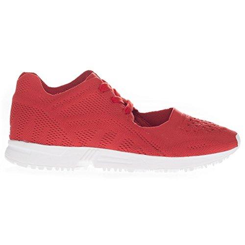 Rouge Adidas Femme blanc Mode Baskets Rouge 7qPpz