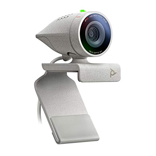 Poly – Studio P5 – Professional HD Webcam (Plantronics) – 1080p HD – Video C