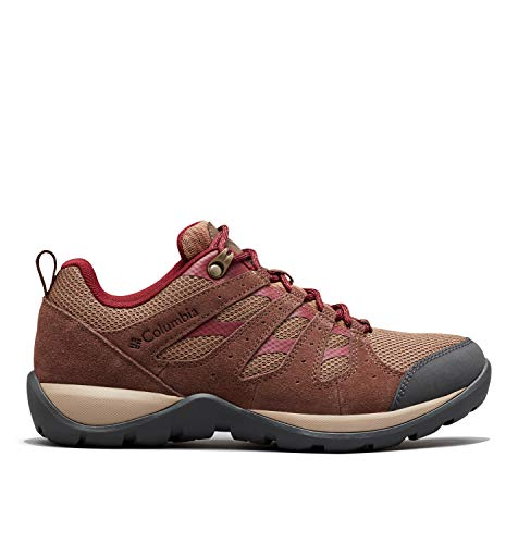 Columbia Women's Redmond V2 Hiking Shoe, Dark Truffle, Rich Wine, 11 Regular US