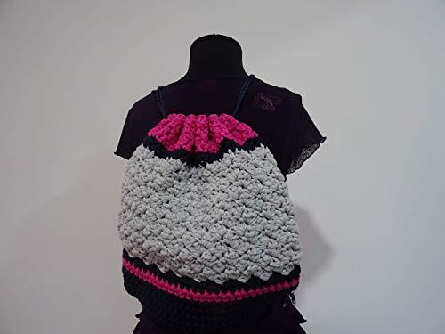 Mochila de crochet (ganchillo)