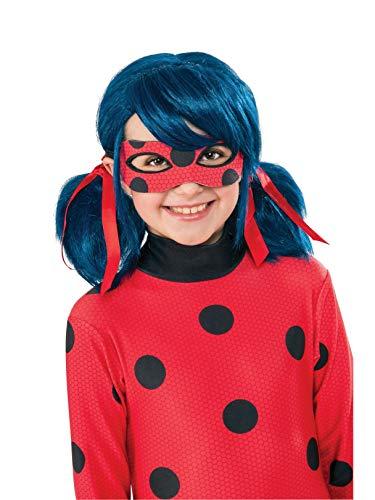 Rubie's Costume Miraculous Ladybug Kid's Costume Wig, ST -