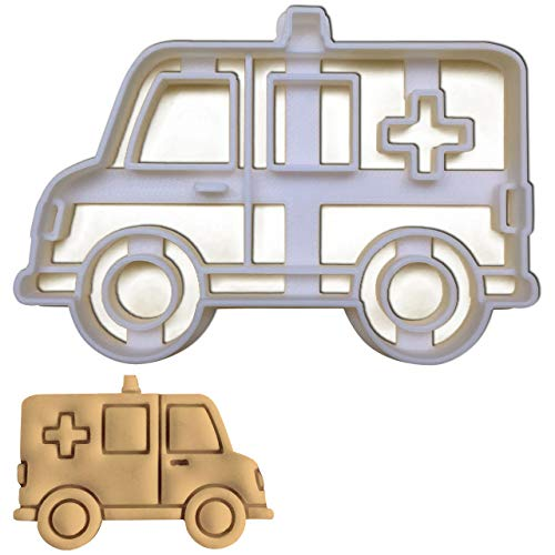 Ambulance Cookie cutter, 1 pc, Ideal for Medical themed party