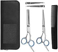 BT-BASE 前髪 はさみ 散髪 家庭用 子ども 初心者 美容師 プロ用 高級シザー 7点セット