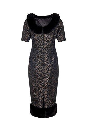 Collectif - Vestido - Lápiz - para mujer