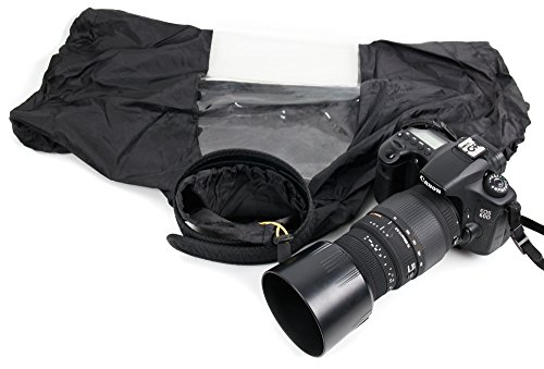 DURAGADGET Essential SLR Waterproof / Protective Rain, Snow, Sand & Dust Camera Cover / Jacket for Nikon CoolPix L830, Nikon Coolpix P610 & Nikon Coolpix L840