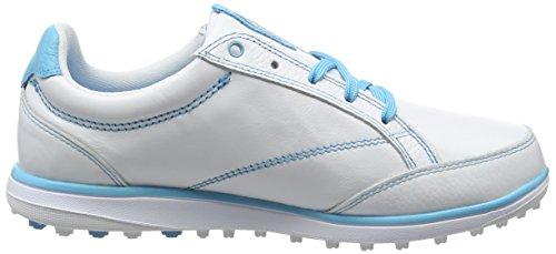 2014 Ashworth Cardiff Adc Spikeless Ladies Zapatos De Cuero De Cuero Blanco 4uk