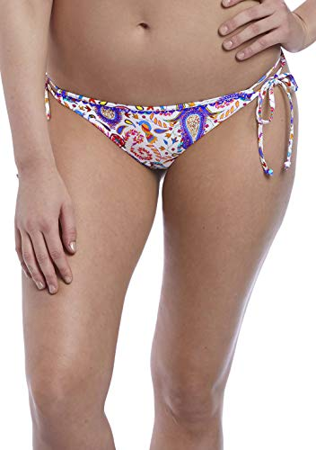Freya Indio Rio Side Tie Bikini Bottom, M, Paisley