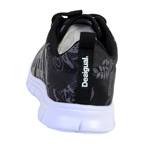 De Mujer Para Desigual Zapatillas Lona Negro Twg8Fq8x5