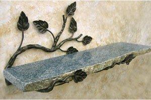 Aspen 20quot x 6quot Bathroom Shelf Finish: Oil Rubbed Bronze