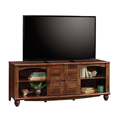 Cherry Entertainment Credenza (Sauder 420472 Harbor View Entertainment Credenza, Curado Cherry)