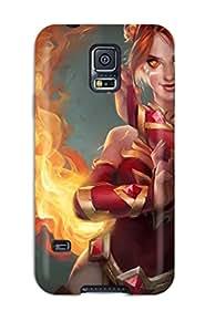 TashaEliseSawyer Scratch-free Phone Case For Galaxy S5- Retail Packaging - Lina Inverse