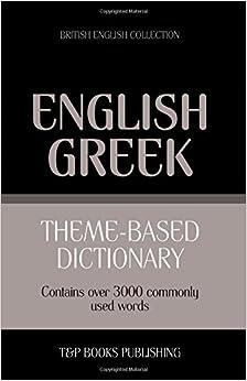 Theme-based dictionary British English-Greek - 3000 words