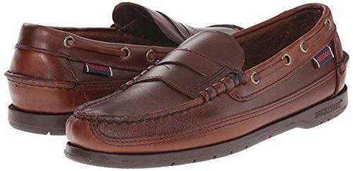 M US Oxford Oiled Sebago 8 5 Men's Brown Sloop w41fnf0q8