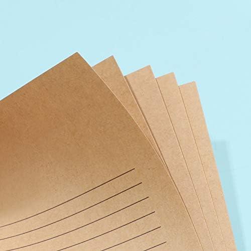 Briefpapier Weihnachten Kraftpapier Motivbriefpapier 100 Blatt Bastelpapier Rentier Notizpapier Elk Schreibpapier Einladung Schreibwaren Papier für Weihnachtsgrüße Geburtstag