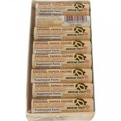 American Health Original Papaya Enzyme Chewable - 16 Rolls
