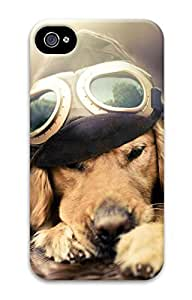 iPhone 4 Case, Customized Protective Dog Hard 3D Case Cover for iPhone 4 4s