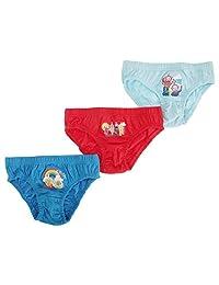 Teletubbies Childrens Boys Official Cotton Briefs Underwear (Pack Of 3)