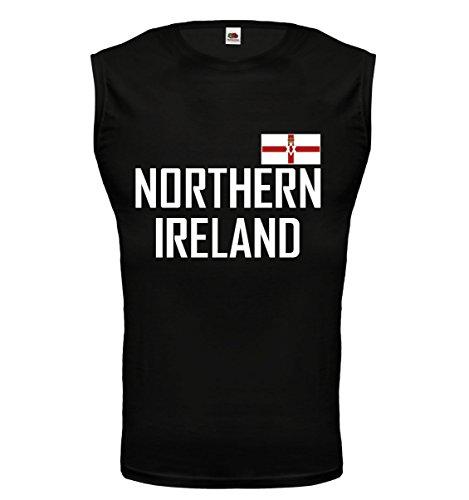 buXsbaum Tank Top Northern Ireland-XXL-Black-
