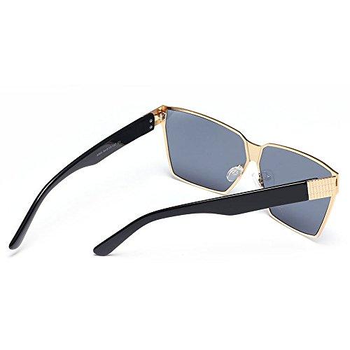 voyage d de adulte couleur pour conduite de surdimensionnées de Pour protection la unisexe UV rétro lunettes plage air en unisexe élégant plein été lentille en voyage Style pêche soleil de C2 Lentilles xaIBwAqX