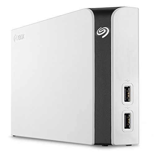 Seagate Game Drive Hub for Xbox 8TB External Hard Drive Desktop HDD with Dual USB Ports - White, Designed for Xbox One (STGG8000400) 100 Gb Portable Hard Disk