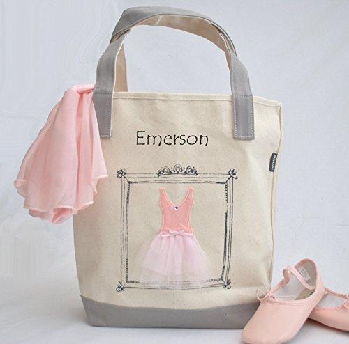 Medium Ballerina Tote, Tutu Ballet Bag, Flower Girl Gifts, Personalized Gifts, Tutu Bag, Ballet Bag, Dance Bag, Personalized Girls Dance Bag