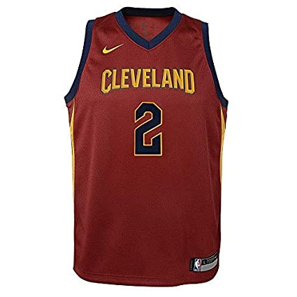 uk availability 6803b 5e00c Nike Kyrie Irving Cleveland Cavaliers NBA Youth Burgundy Red Dri-Fit  Swingman Jersey