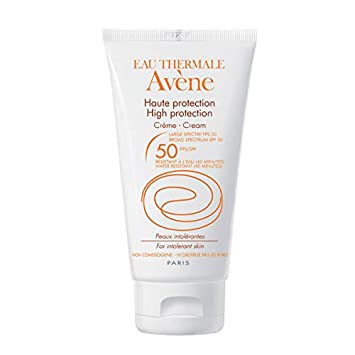 0d057753a5ec Amazon.com : Avene High Protection Mineral Cream, SPF 50, 1.69 Fluid Ounce  : Sunscreens : Beauty