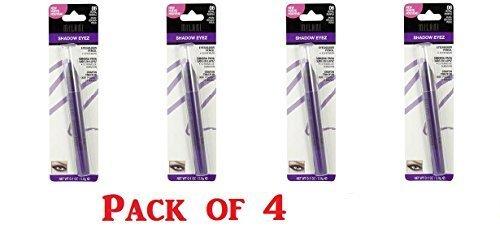 Milani Shadow Eyez Eyeshadow Pencil, 06 Royal Purple (Pack of 4)