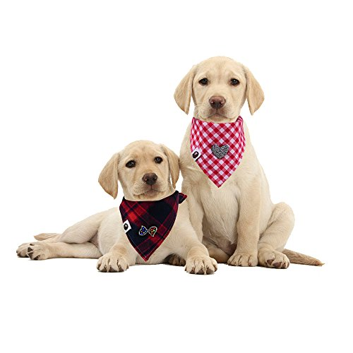 Valentine's Day LOVE BOWKNOT rhinestone DogTriangle